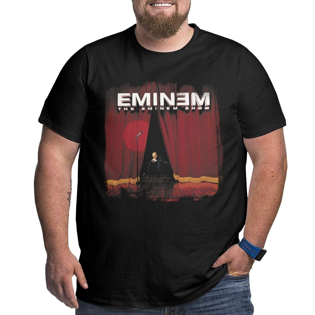 Matthewconnersw Man Big T Shirt The Eminem Show T Tennis Over T Shirts R Waist