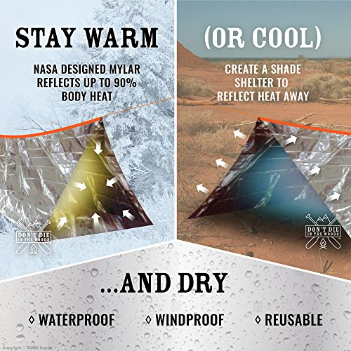 3-PACK-Emergency-Shelter-Tube-Tents-Must-Have- & 3 PACK Emergency Shelter Tube Tents | Must-Have Outdoor Safety ...