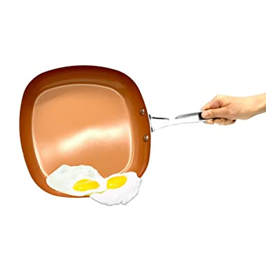 As Seen on TV Gotham Steel 2  Deep Square Copper Frying Pan- BRAND NEW!