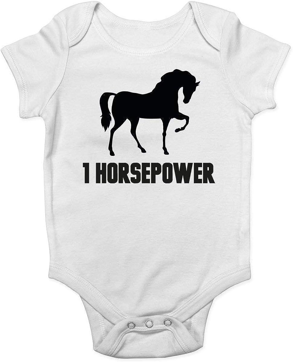 Mono de bebé Promini para bebé – 1 caballo de fuerza – Body de bebé de una sola pieza – mejor regalo para bebé