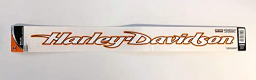Chromagraphics Harley-Davidson Script Windshield Decal