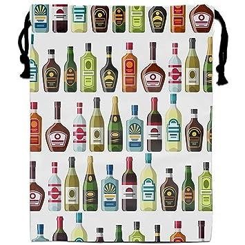 Careyth Organizador con cordón Bebidas alcohólicas Bolsas ...