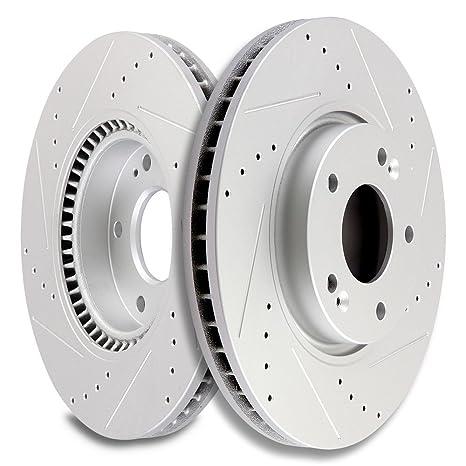Scitoo Frontal 300 mm Rotores de Freno Discos de Freno Kit para Hyundai Sonata Tucson velostar