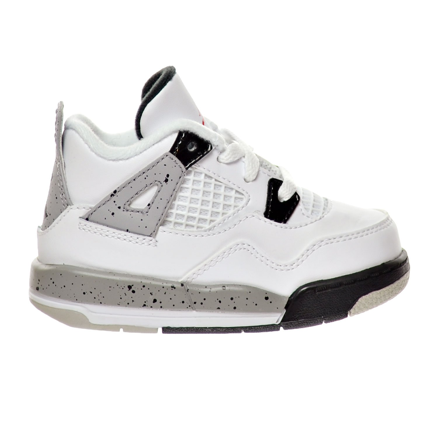88541655389 ... netherlands amazon jordan 4 retro bp cement toddlers shoes white fire  red black matte silver 308500
