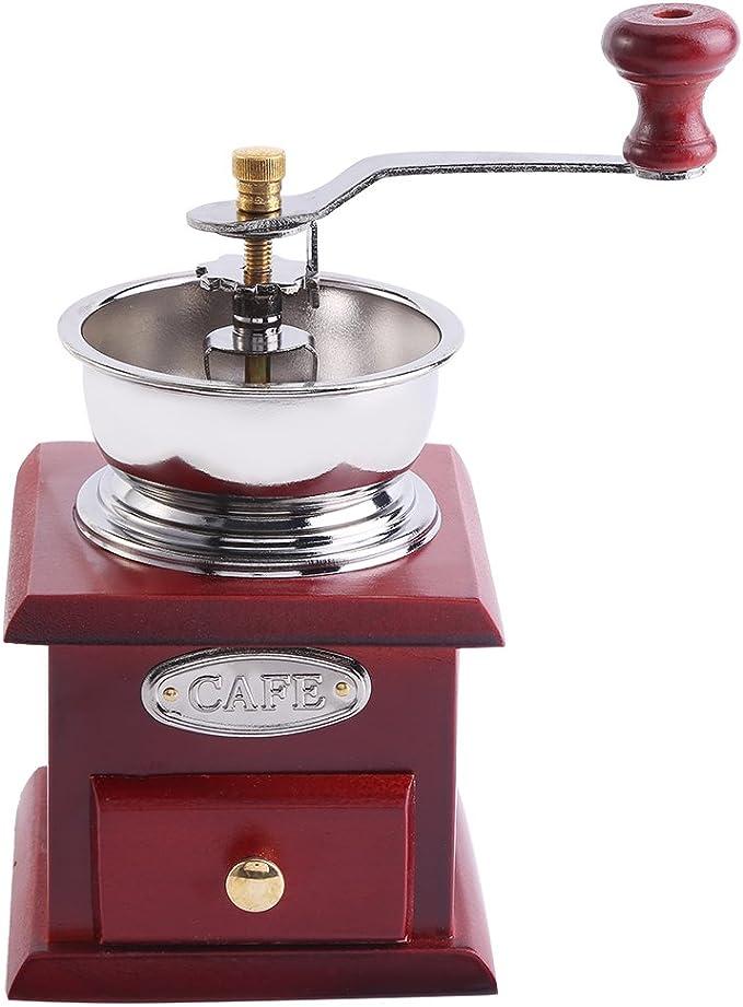 Antique Sheet Metal Manual Coffee Grinder Peugot 1900-1910