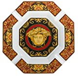 Versace by Rosenthal Medusa Red 9-Inch Cigar Ashtray