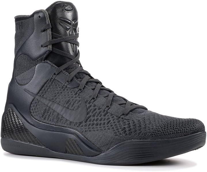 watch 9efaa 5f814 Amazon.com   Kobe 9 Elite FTB  Fade to Black  - 869455-002 - Size 8    Basketball