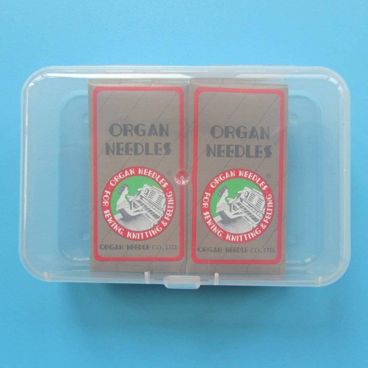 100 PCS Organ Sewing Needles fit for Singer RICCAR Organ-HAX1 14//90 100PCS NECCHI,Brother + Pfaff Organ Needle JANOME