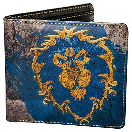 JINX World of Warcraft Alliance Bi-Fold Wallet, Multi-Colored, One Size