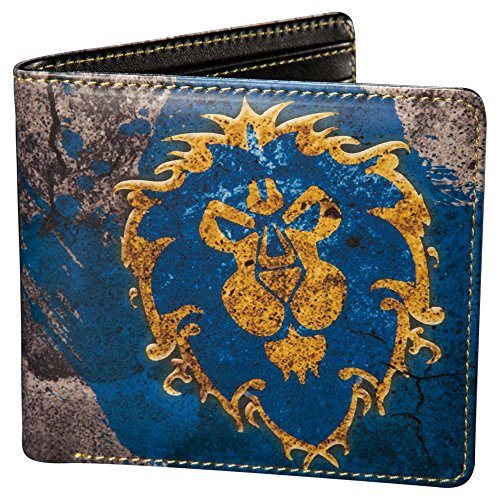 JINX World of Warcraft Alliance Bi-Fold Wallet (Multi-Color, One Size)