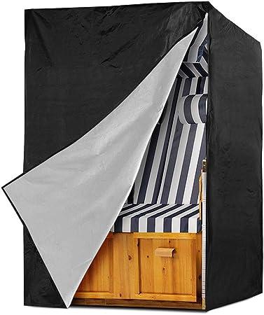 Schutzhülle Strandkorb Abdeckung für Strandkörbe Strandkorbhaube 420D Oxford+PVC
