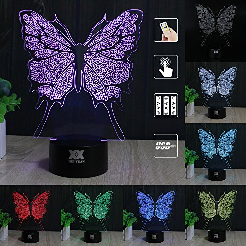 Led 3D Butterfly Night Lights - 5