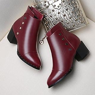 GTVERNH-martin bottes bottes automne hiver coréen avec grossier avec de petits correspondent tous avec les bottes et les souliers à talons hauts en hiver