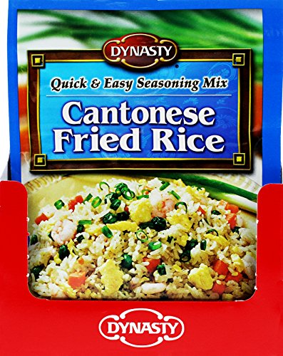Dynasty Cantonese Fried Rice Seasoning Mix, 0.75 Ounce (Pack of 24) by Dynasty