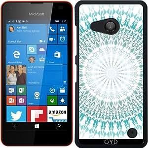 Funda para Microsoft Lumia 550 - Mandala Turquesa by Nina Baydur