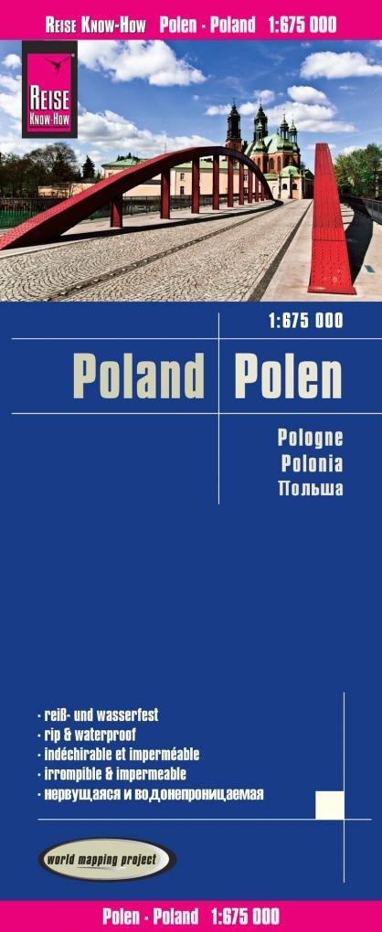 Reise Know-How Landkarte Polen (1:675.000): world mapping project Taschenbuch – Folded Map, 2. Januar 2019 383177403X Karten / Stadtpläne / Europa Polen / Landkarte Atlas