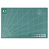 RedSonics - A3 PVC Rectangle Grid Lines Self Healing Cutting Mat Tool Fabric Leather Paper Craft DIY Tools 45cm 30cm