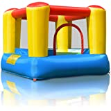 COSTWAY Inflatable Bouncy Castle Outdoor Garden Kids Jumper House Activity Playground (Type 1)