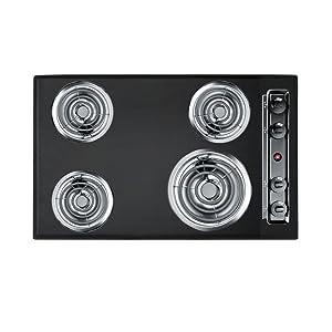 Summit TEL05 Kitchen Electric Cooktop, Black