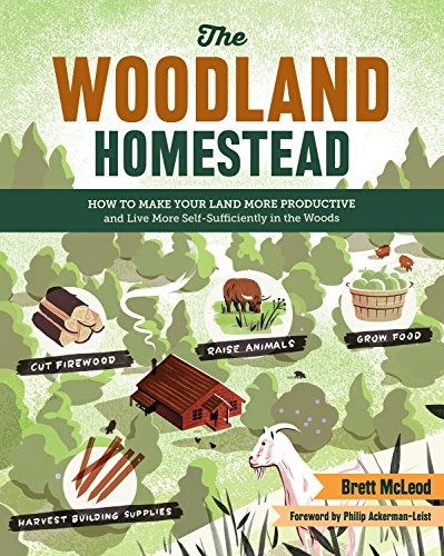 The Woodland Homestead: How to Make Your Land More Productive and Live More Self-Sufficiently in the Woods by [McLeod, Brett]