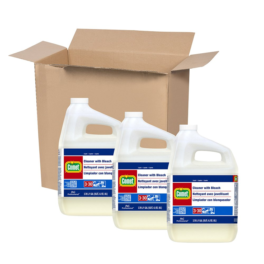 Comet Professional Cleaner with Bleach, 1 Gallon (Case of 3) by Comet® Professional (Image #3)