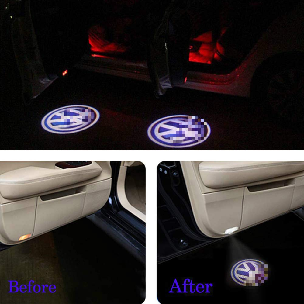 Autot/ür Licht Autot/ür Dekorative Eintrag Logo Projektor Lichter Auto LED Projektor Willkommen