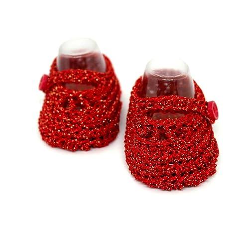 stivaletti bambina scarpette all uncinetto scarpette mary jane scarpe estive scarpine rosse scarpette neonata stivaletti glitter rossi amazon it handmade stivaletti bambina scarpette all