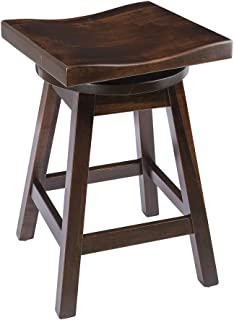 product image for Furniture Barn USA Swivel Urban Bar Stool in Maple Wood - Multiple Sizes and Stain Options!