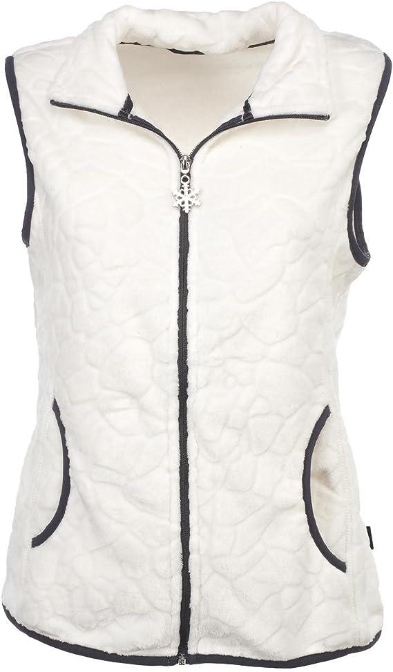 Sm Sportswear Eldera Vestes Lady Blanc Polaire Lauziere OuTkXiPZ