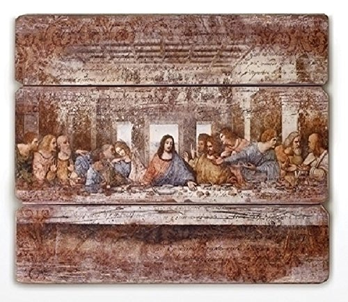 Joseph's Studio Antique-Style The Last Supper Religious Panel Wall Decor