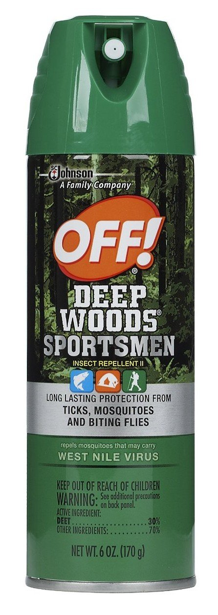 Off! Deep Woods Sportsman Insect Repellent 6 Oz (3 Pack) by SC Johnson (Image #1)