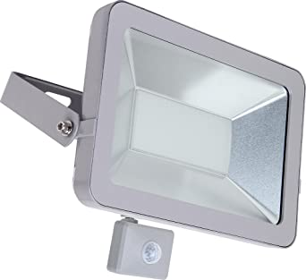 europalamp fl5027 Proyector LED con detector de movimiento vidrio ...