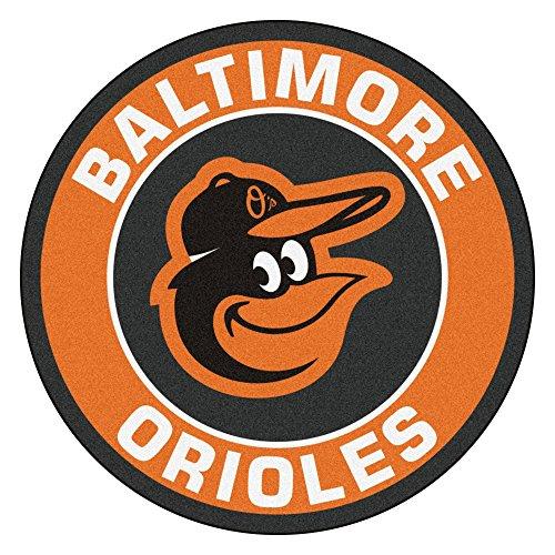 FANMATS 18128 MLB Baltimore Orioles Roundel Mat (Baltimore Orioles Rug)