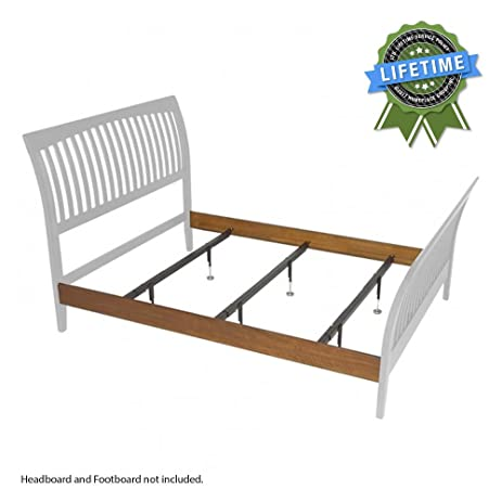 Amazon Com Fix Your Bed Package Queen Size Wood Bed Rail And