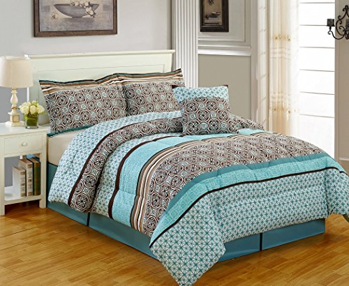 Teal and Brown Bedding: Amazon.com