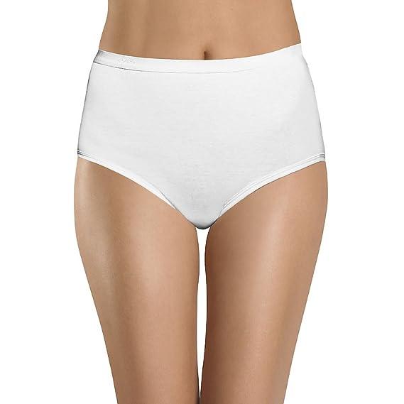 dcc69182b4d Hanes Women s 3Pack Assorted Cotton Briefs Ladies Panties Underwear ...
