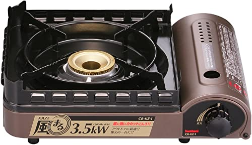 Iwatani strong wind – wind break stove cassette Fu KAZEMARU blow Cased to CB-KZ-1-A