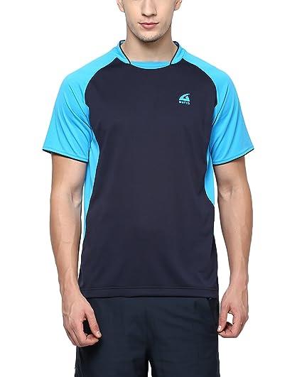1de10c49 Aurro Sports 70074-XXL Basic Polyester Piping Crew Neck/Crew T-Shirt ...