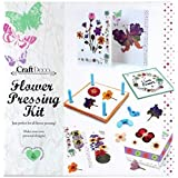 Creative Flower Pressing Kit - Make Your Own Personal Designs - Lots of items - Craft Deco