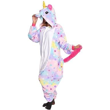 b979e2e9f968 Amazon.com  Angelina Unisex Plush Unicorn and Animal One-Piece ...