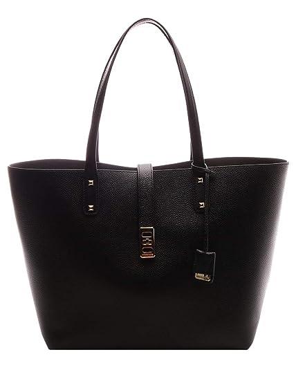 fc8ca54073ed Michael Kors Karson LG Carryall Tote Leather Black (35T8GKRT3L ...