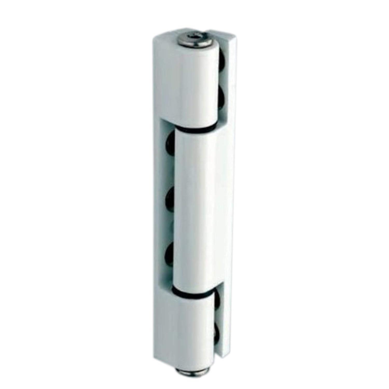White uPVC Door Angled Butt Hinge - 115mm Hinge - Double Glazed Door Hinge Home Secure