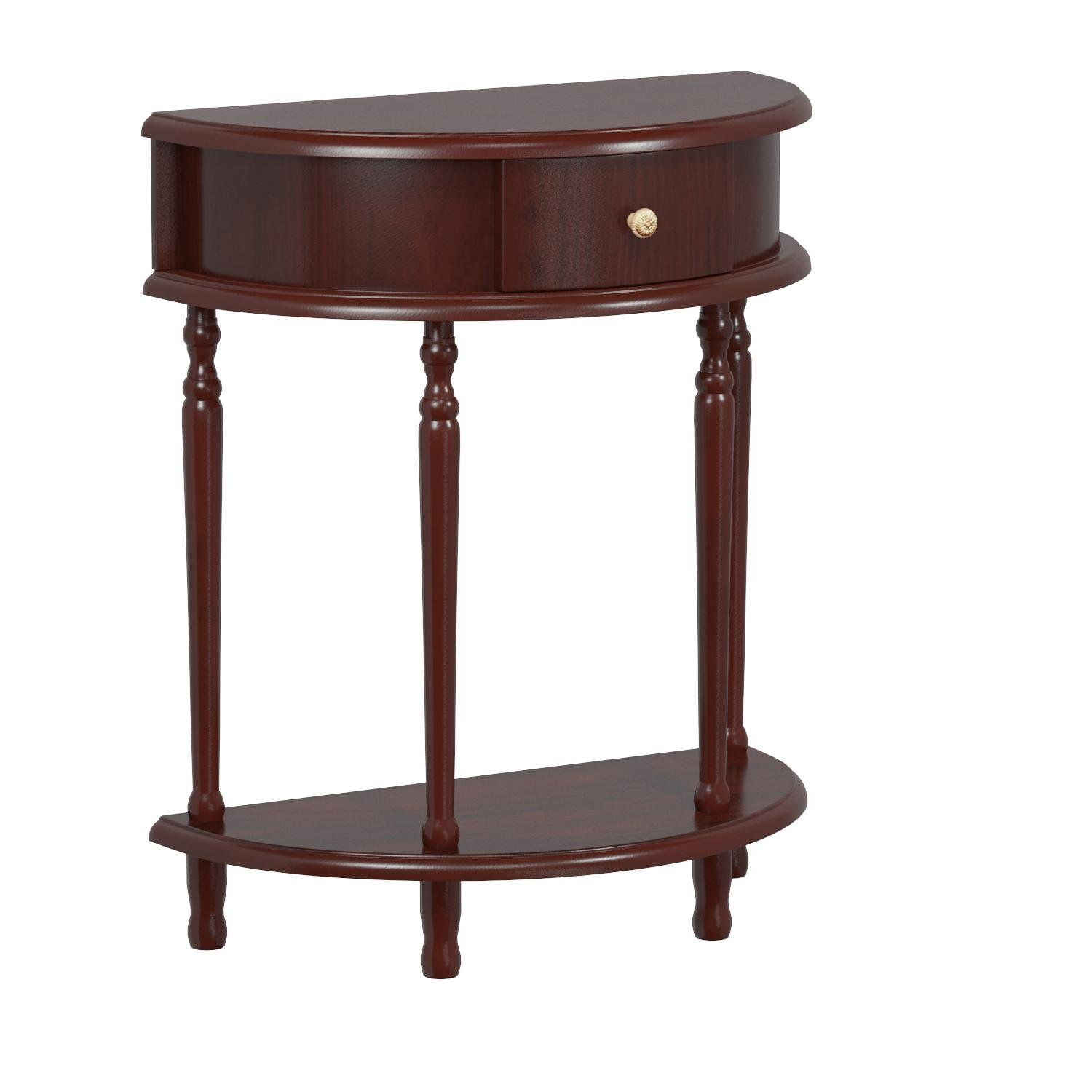 Frenchi Home Furnishing End Table/Side Table, Espresso Finish by Frenchi Home Furnishing (Image #5)