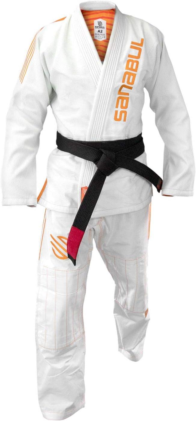 Sanabul Highlights Professional Competition BJJ Jiu Jitsu Gi IBJJF Approved See Special Sizing Guide