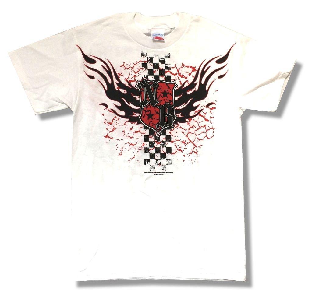 Nickelback Racing Crest Dark Horse 2009 Tour T Shirt