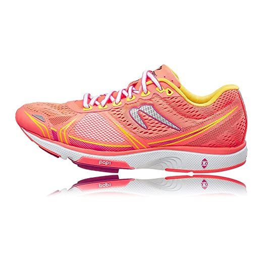 Newton Women's Motion V Running Shoes, Coral/Yellow ...