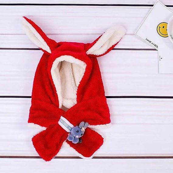 BANG-LYX Gorras Rojas Sombreros for recién Nacidos del niño de los ...