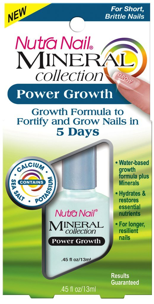 NUTRA NAIL MINERAL COLLECTION POWER GROWTH NAIL CARE 13ML - 13ML CCA INDUSTRIES. CCA376970