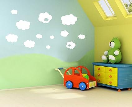 Decorazioni Per Camerette Per Bambini : A vinyl concept nuvole per bambini bambini cameretta