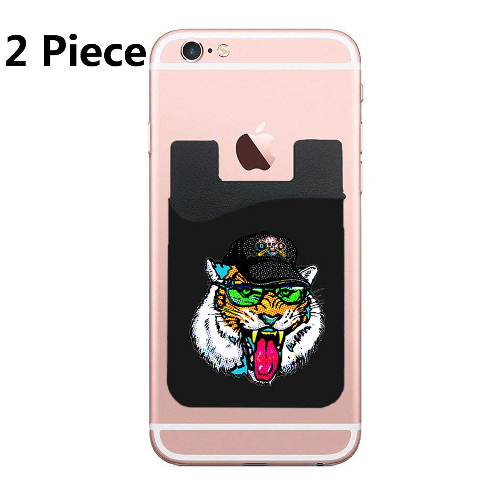 Amazon.com: Two Fun Cat Summer Holidays Cell Phone Stick On ...